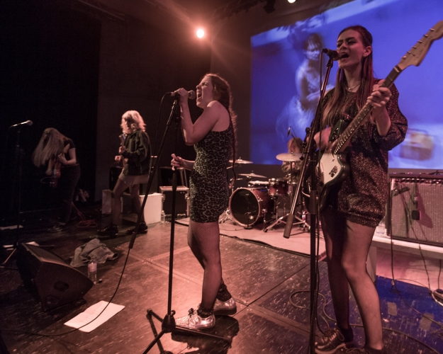 Babe Punch @ Nottingham Contemporary, 15/01/16