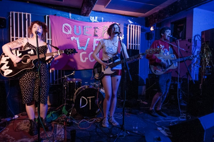 Block Fort @ Queer Fest Leeds, Wharf Chambers, 13/06/15
