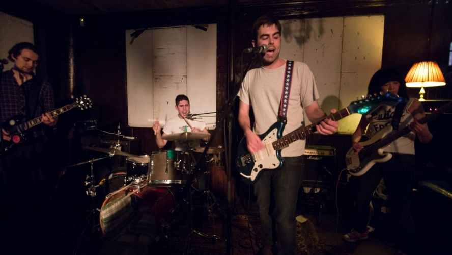 Flemmings @ A Day at Pig Beach, The George Tavern, 20/02/16
